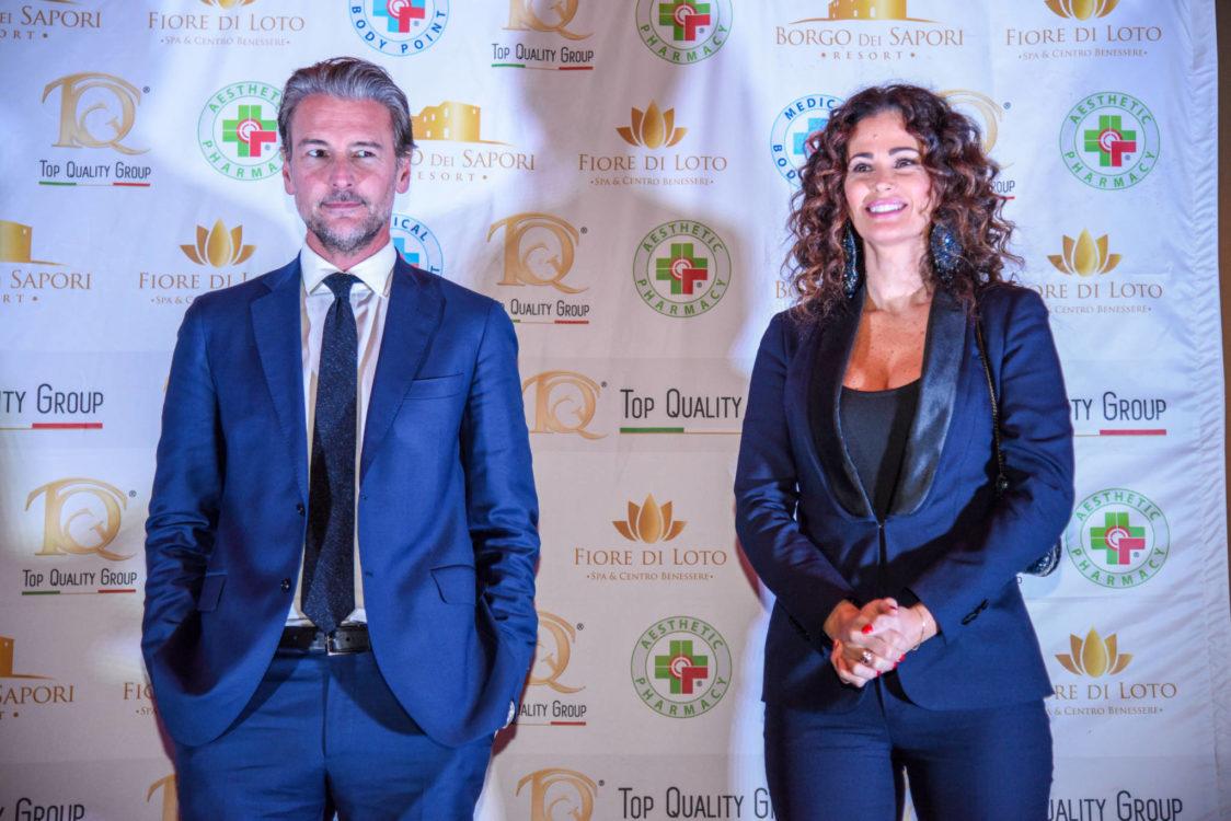 Samantha de Grenet e Roberto Farnesi entrano nel mondo TQG